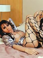 Ladyboy Longmint ready to empty her balls