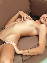 Smoking hot ladyboy nen caught wanking off