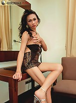 See ladyboy with attitude naked and horny