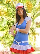 Ladyboy baseball girl