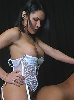 Shemale slut gets her tight ass fucked!