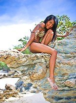 Delightful shemale shows off horny and dripping wet