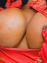 Beautiful classy tranny Areeya incredibly seductive and playing in the bed