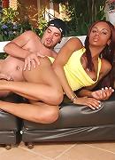 Slutty shemale hottie Veronika gets deep stuffing