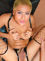 Watch mean and horny Bebe punish her man