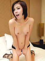 Sweet and sexy ladyboy hard and horny