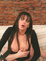 Bigtitted tranny Julieta getting rammed up the ass