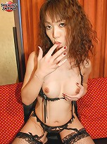 Osaka native Yumi is a post-op shemale with a delicious new pussy ready to lick up!