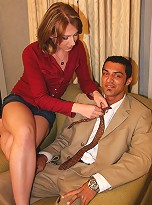 In Detroit, tranny Athena seduces Jim with her pouty lips and delicate touch. Jim\'s cock immediately rises to attention and he sucks Athena dry!
