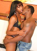 Horny black guy fucking hard pretty hot shemale in a so exciting hardcore for us.