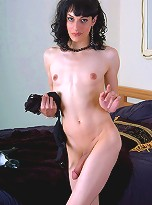 Gianna has milky white skin you\'ll want to run your tongue over...