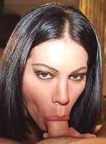Brazilian Tranny, Barbara Ribeiro, loves a many who treats her like a total slut!