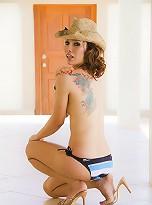Ladyboy cowgirl Neung