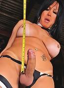 Big cock tranny Leticia Griffol
