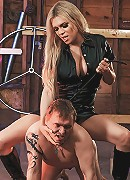 Slave training with shemale mistress Jesse