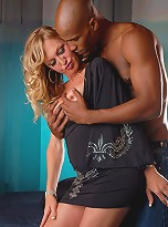 Olivia Love shows this Black stud how it is done!!