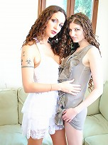Seductive TS Nicole playing with a hot girl