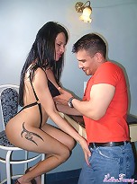 Hot Tgirl Maia Monroe Having Fun With Axel