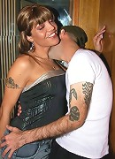 my good friend Pablo mets Ingrid in an elevator and she start to suck his cock in no time