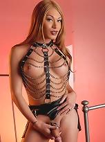 Super hot Mia Isabella posing as a kinky mistress