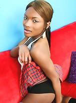 Black stunner Amyiaa show hardon