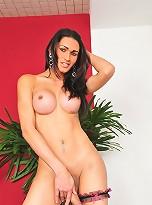 Sweet Renata Tavares and her huge cock