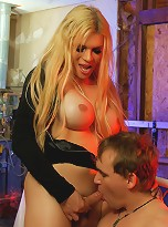 TS Jesse enjoying being a mistress