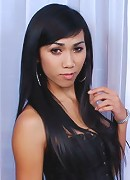 Exotic asian ladyboy showing off girl pole