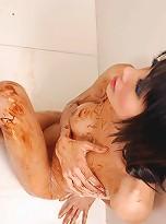 Long and lean ladyboy posing nude
